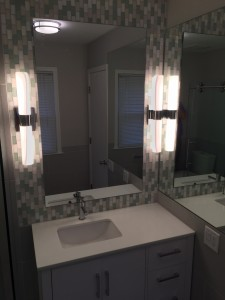 Bathroom and Mirror