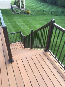 Back Deck Stairs